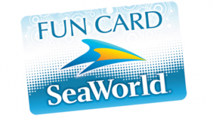 2014 Sea World Membership Pass