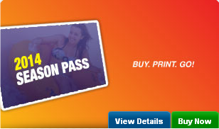 2014 Raging Waters Sacramento Season Pass