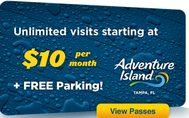 2014 Adventure Island Annual Pass