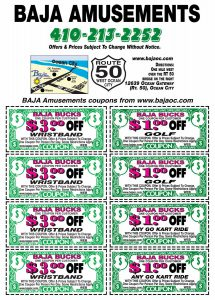 Baja Amusements Coupon