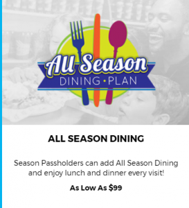 Cedar Point Dining Pass