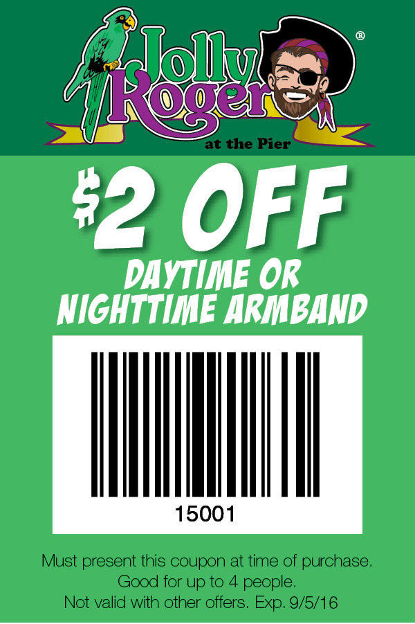 Jolly Roger at the Pier Coupon1