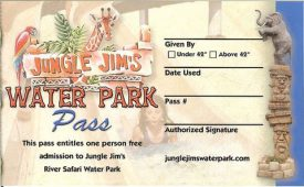 Jungle Jim's Adventure World Coupon