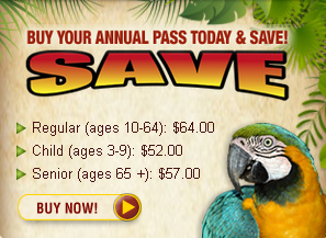 2014 Lion Country Safari Annual Pass