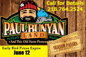 Paul Bunyan Land Coupon