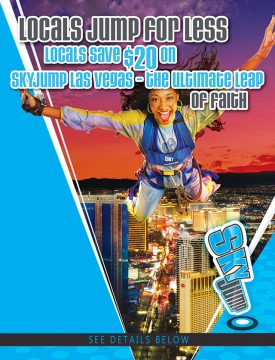 Stratosphere Tower Sky Jump Locals Discount
