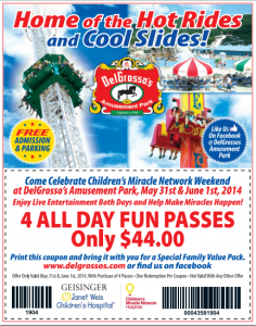 Lakeside amusement park discount coupons