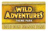 Wild Adventures Coupon