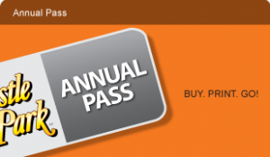 2014 Castle Park Annual Pass