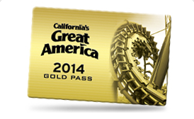 2014 great america gold pass