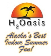 [H20asis Indoor Waterpark Logo]