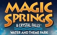 [Magic Springs and Crystal Falls Logo]