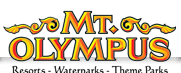 [Mt. Olympus Water & Theme Park Logo]