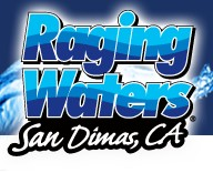 [Raging Waters San Dimas Logo]