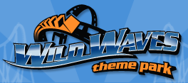 [Wild Waves Theme Park Logo]