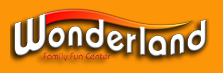 [Wonderland Family Fun Center Logo]