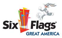 [Six Flags Great America Logo]