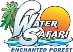 [Enchanted Forest Water Safari Logo]