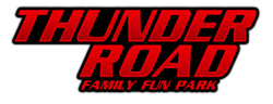 [Thunder Road Family Fun Park Logo]