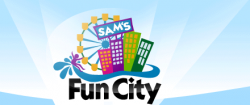 [Sams Fun City/Surf City Logo]