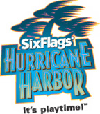 [Six Flags Hurricane Harbor Logo]