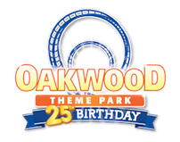 [Oakwood Theme Park Logo]