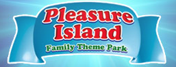 [Pleasure Island Family Theme Park Logo]